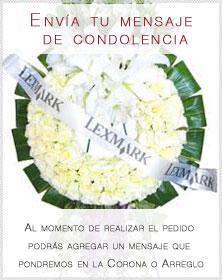 Florerías Envíacondolencias Finas Flores Fúnebres A Domicilio