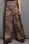 Pantalon Seda Estampa Animal Print