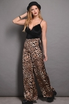 Pantalon Seda Estampa Animal Print en internet
