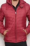 Campera Water Defense Uniqlo Bordo