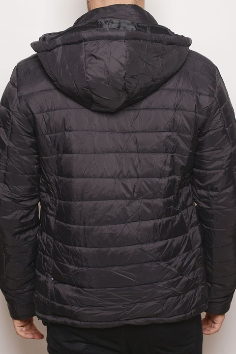 Campera Water Defense Uniqlo Negra - comprar online
