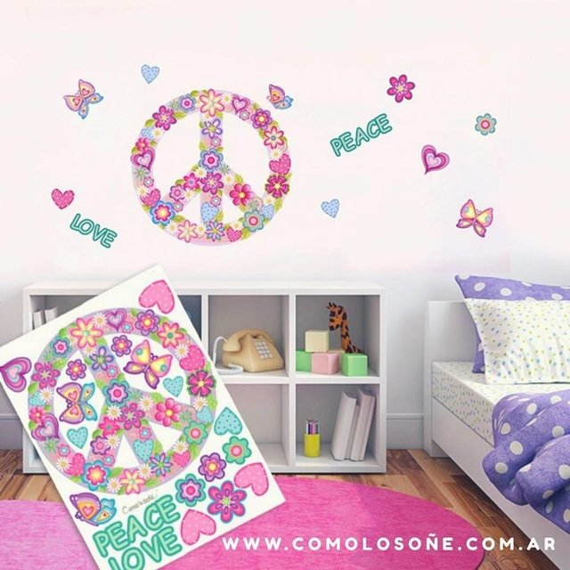 WALL STICKER SIMBOLO DE PAZ