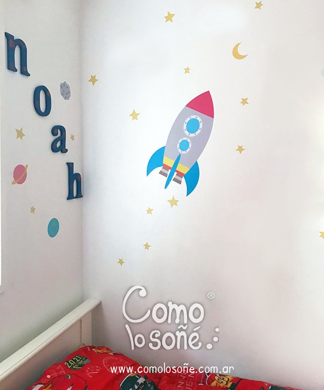 Wall Sticker Cohete en internet