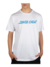 Camiseta Santa Cruz Classic Strip Branca