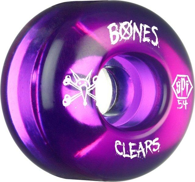 RODA BONES 54MM SPF CLEAR PURPLE 84B P4 5e8b662713a