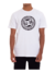 Camiseta DC Shoes Circle Star Branca