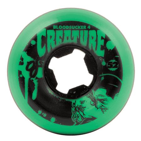 c75be3648 RODA DE SKATE OJ 52MM BLODSUCKERS GREEN BLACK 97A