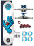 Skate Santa Cruz Completo 7.9 Screaming Hand White