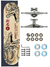 Skate Wood Light Completo Amador 8.0 Japan Ryu