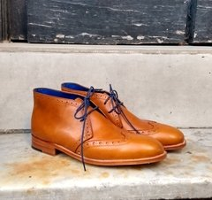 Bota Wingcap Brogue