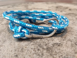 Pulseira Masculina Hope Water Paracord - comprar online