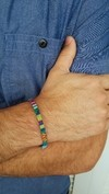 Pulseira Boho Colors Fine Blue na internet