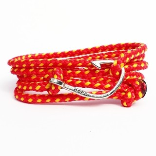 Pulseira Masculina Hope Fire Paracord