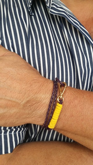 Pulseira Complement Roxo Destroyed na internet