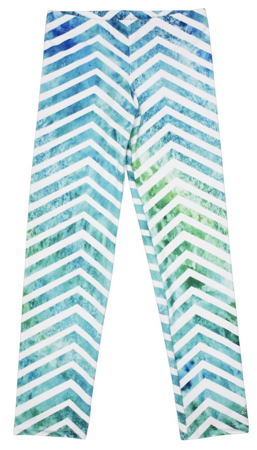 Estampa Exclusiva 4ever Chevron Acqua