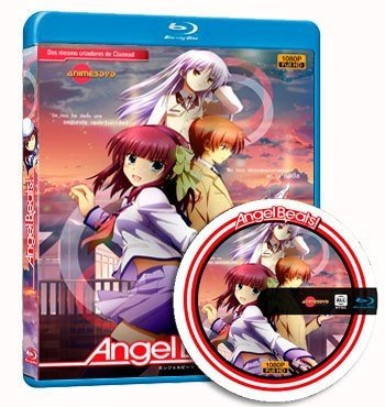Angels Beat!  cover dvd