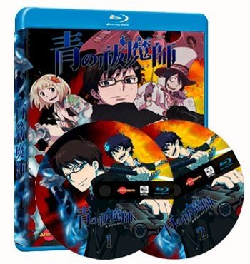 Ao no Exorcist (Blue Exorcist) dvd cover