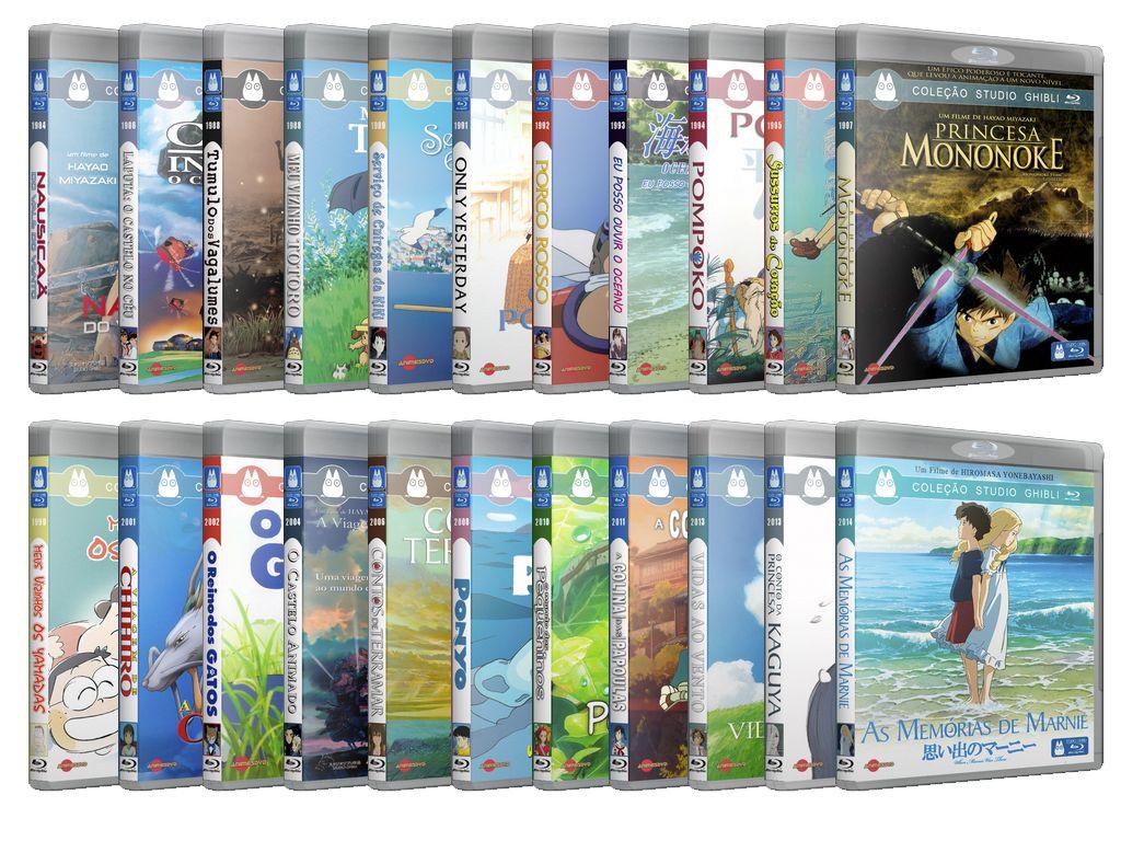 Coleção Filmes do Studio Ghibli