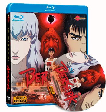 Berserk: The Golden Age Arc Trilogy dvd cover
