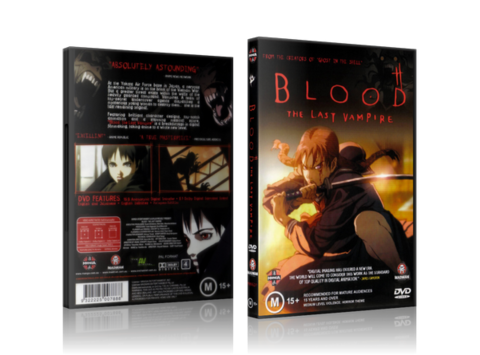 Blood: The Last Vapire cover dvd