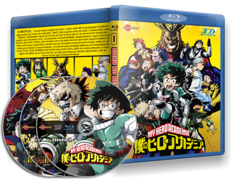 Boku no Hero Academia Blu-ray cover