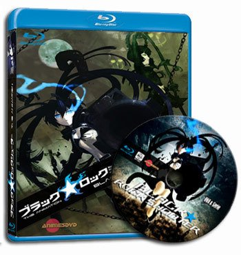 anime Black Rock Shooter dvd cover