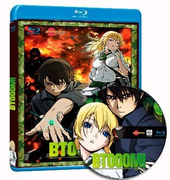 Anime Btooom! cover dvd