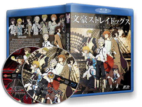 Bungo Stray Dogs cover capa