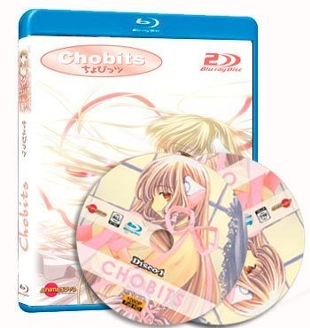 anime Chobits cover dvd