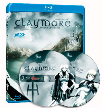 anime Claymore dvd cover