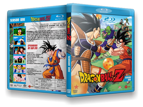 Dragon Ball Z Blu Ray Cover 1