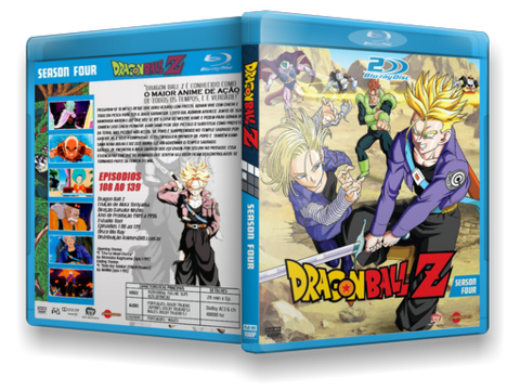 Dragon Ball Z Blu Ray Cover