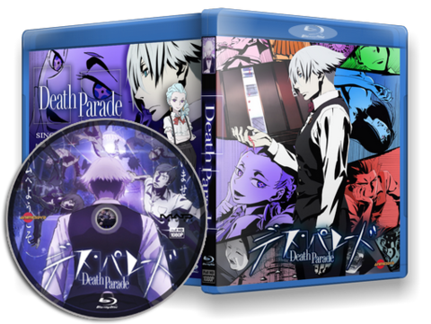 Death Parade Cover Capa