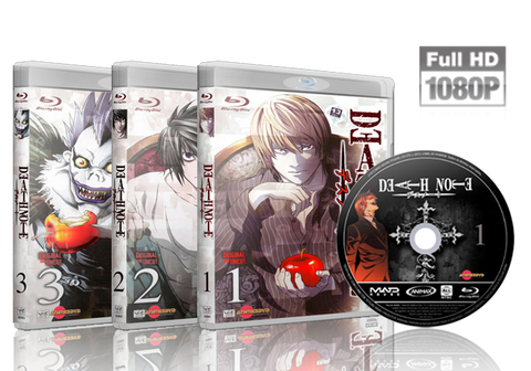 Death Note Blu Ray Cover