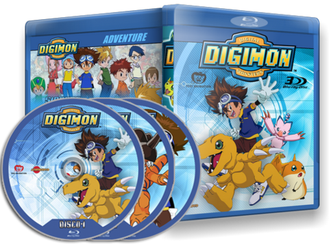 Digimon Adventure Blu-ray Cover