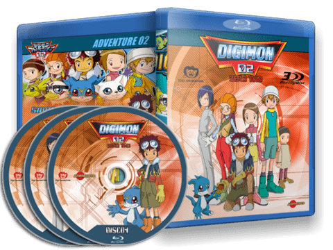 Digimon Adventure 02 Blu-ray Cover