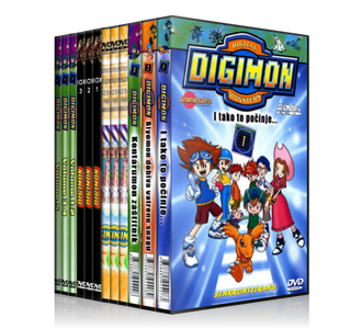 Digimon 4 Temporadas