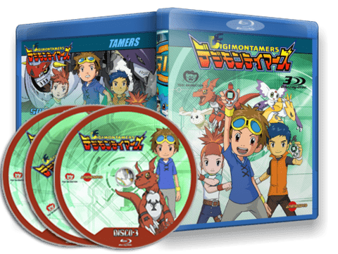 Digimon Tamers cover Capa