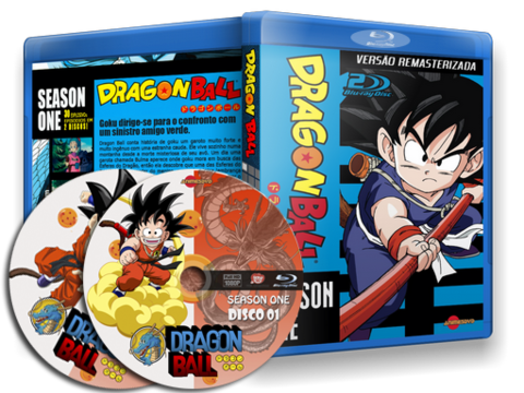 Dragon Ball Blu-ray Cover