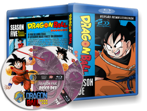 Dragon Ball Box Blu-ray cover
