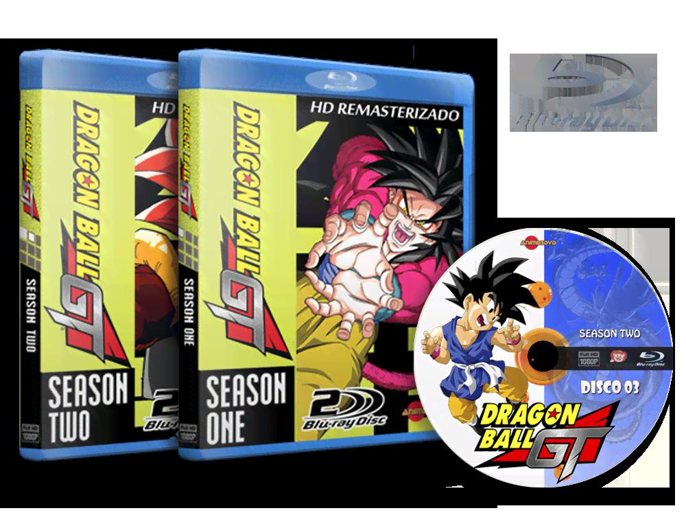 Anime Dragon Ball Gt Em Blu Ray