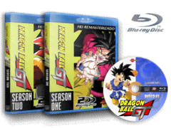 Dragon Ball GT Completo Blu Ray