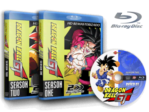 Dragon Ball GT Blu Ray cover