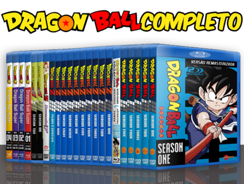 Dragon Ball completo Blu-ray cover