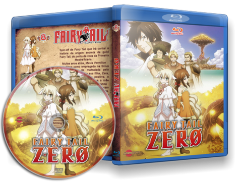 Fairy Tail Zero Cover Capa