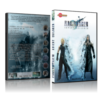 Final Fantasy VII DVD cover capa