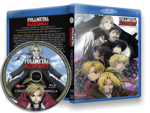 Fullmetal Alchemist  movie cover capa