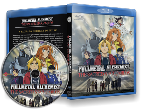 Fullmetal Alchemist: The Sacred Star of Milos Cover Capa