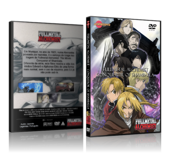 Full Metal Alchemist Movie - comprar online