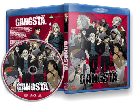 Anime Gangsta Blu-ray Cover